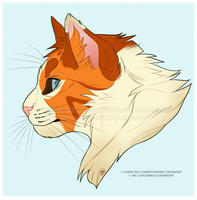 Casey Bust Commission by Gato-Iberico