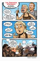 Daenerys - ASoIaF / Game of Thrones by Azad-Injejikian