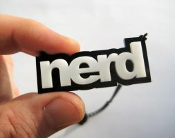 NERD necklace acrylic by milkool