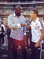 CRISTIANO RONALDO AND MAGIC JOHNSON by RafaelVicenteDesigns
