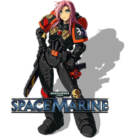 Space Marine by Abaddon999-Faust999