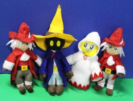 My Felt Mages by MeMiMouse