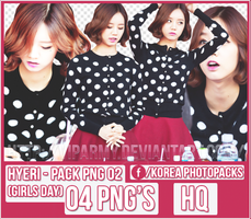 Pack png render: Hyeri |Girls Day #02 by VipArmy