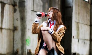 Kurisu Makise by Fiora-solo-top