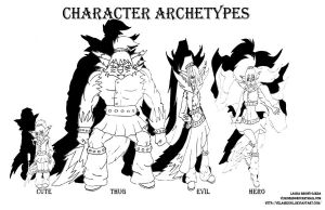 Character Archetypes by Velairennil