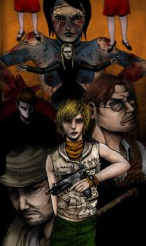Silent Hill 3 by Lamentfull-miss