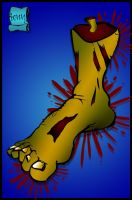 zombie foot by m40a2