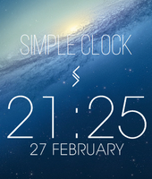 Simple Clock by SN37