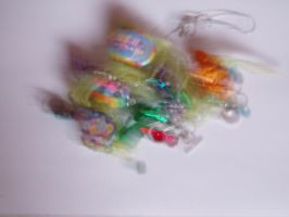Tangled Colourful Objects by HyperPinkFish