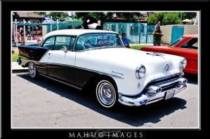 55 Oldsmobile Holiday by mahu54