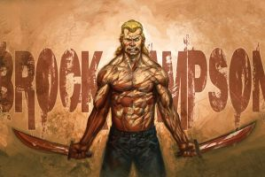 Brock MUTHA F$CKING Sampson by capprotti