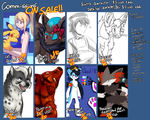 COMMISSIONS ON SALE! (Limited time!) by BritishStarr
