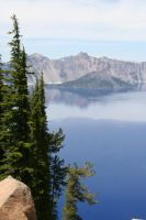 Crater Lake, Oregon by I-Heart-Photos