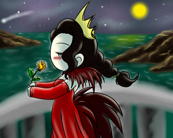 wishing for a safe return by DarkiceMistress