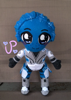 That Blue Lady from Mass Effect by UltraPancake