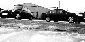 Mini and Astra 3 blackNwhite by Fraawgz