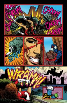 Savage Dragon For Fun pg5 by NickJustus