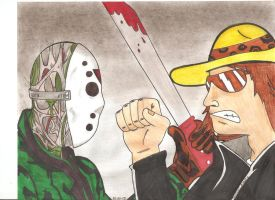 Dross v.s. Jason by sergioalonzo