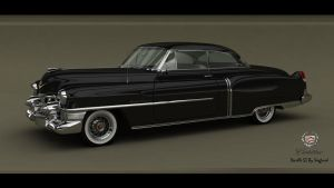 Cadillac Deville coupe 1953 (Pic-2) by Siegfried-Ukr