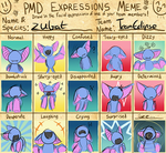 PMD Expressions meme - Zubat by Doctor-of-Madness