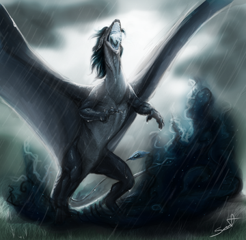 The storm has come by cynder-lany