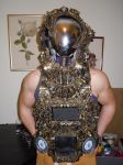 alien astronaut steampunk cyberpunk cosplay borg by overlord-costume-art