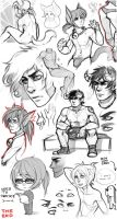 Sketch dump 3 by Rejuch