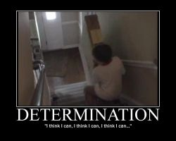 Determination Motivator by GJTProductions