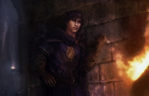 A Game of Thrones - Theon Greyjoy by TheFirstAngel
