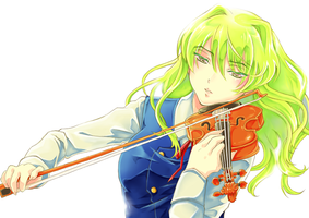 Kago Violin by airibbon