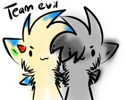 TEAM EVIL by NightBlueMoon