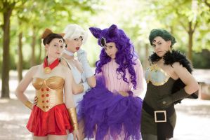 Sailor Moon - Black Moon Sisters by Laverna