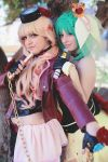 Ranka Lee and Sheryl Nome - MACROSS FRONTIER by ExionYukoCosplay