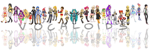 vocaloid madness by butt-sama