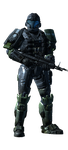 My Halo Reach Character Model by InFamous-Spartan