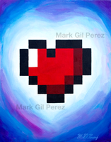 8bit Heart by MGPerez