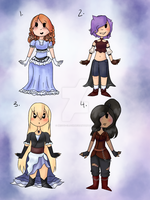 Adopt Designs .:CLOSED:. by Chibi-kohai