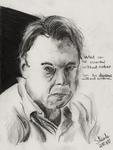 Christopher Hitchens by SulaimanDoodle