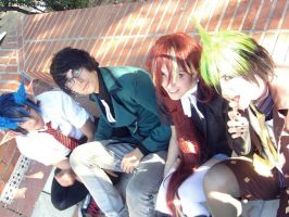 Ao no exorcist by ChromeRitona