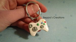 X-Box Controller Key Chain by BeppasCreations