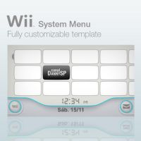 Wii System Menu Template by DannySP