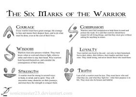 The Six Marks of the Warrior by SonicMaster23