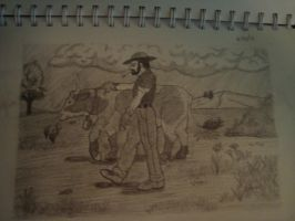 Farmer sketch by Sirtec