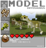 Model-Dryosaurus by Dragonith