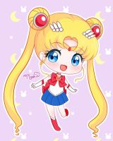 Chibi Usagi [Sailor Moon] by iMoshie