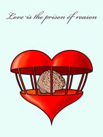 Love is the prison of reason by Sturby