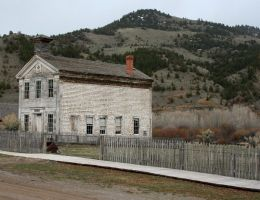 Bannack Ghost Town 21 by Falln-Stock
