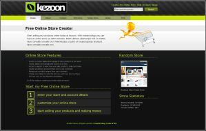 Green Clean Web 2.0 Template by slick-designs