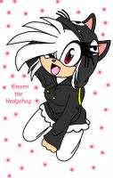 :Gift: Kinomi the Hedgehog by Soniclifetime