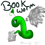 AT: Book Worm by AtemusGirl